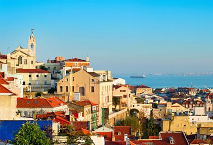 נוף של פורטוגל - תמונת אווירה של עמוד תהליך קבלת אזרחות פורטוגלית